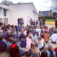 Inauguration d'une charte bienveillante à l'école publique Marcel Pagnol