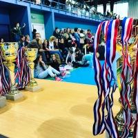 Compétition départementale organisée à Plœmeur par l'ALP Gym