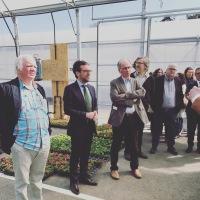 Inauguration des nouvelles serres de l'ESAT mutualiste de Kerlir