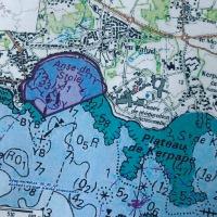 Archéologie sous-marine, reconstitution d'un site à Plœmeur