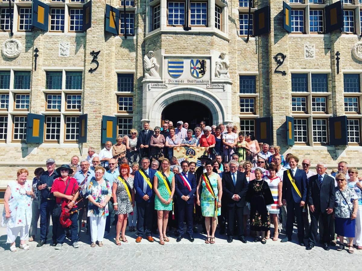 50 ans de jumelage entre les villes de Ploemeur et Dixmude (Flandres) 🇫🇷🇧🇪🇪🇺