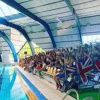 Gala de natation synchronisée piscine Océanis