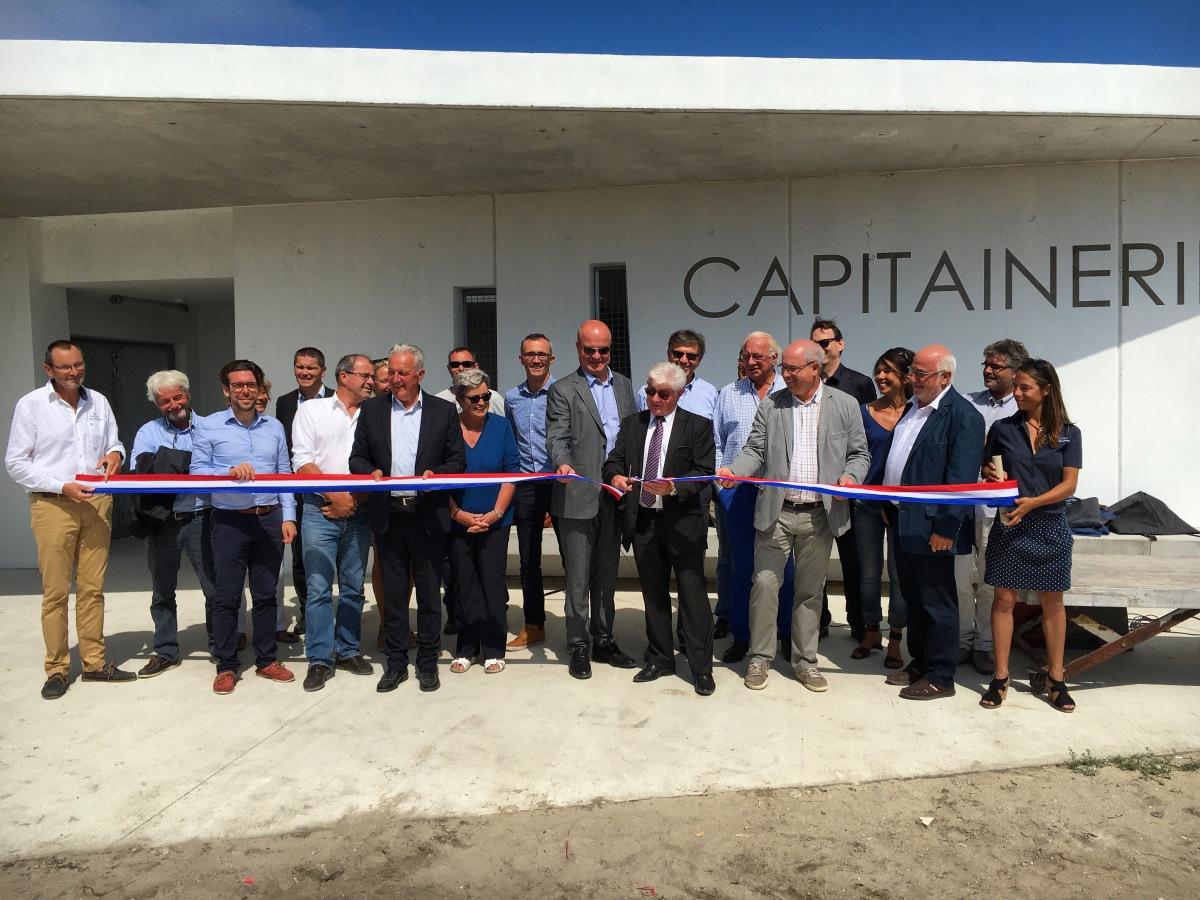 Inauguration Aujourd'hui de la capitainerie du port d'Hoedic