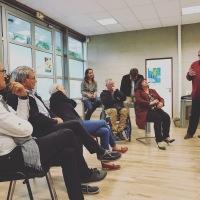 C2SOL. Visite de l'incubateur en projets d'économie sociale et solidaire à Ploemeur