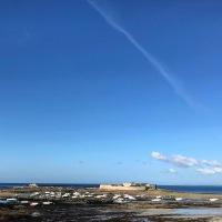 Le Fort-Bloqué et le Courégant inondés de soleil