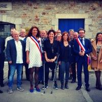 Remise de la médaille pour acte de courage et de bravoure à Lolita Le Namouric