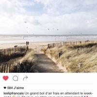 Quand Le Slip Français fait la promotion de notre belle plage du Fort-Bloqué à Plœmeur