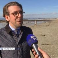 BFM TV était hier sur les plages de Ploemeur [replay]